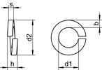 DIN 127 B