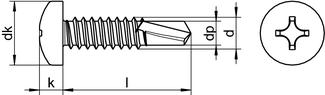 DIN 7504 M H