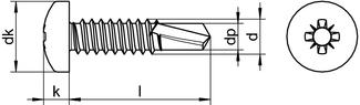 DIN 7504 M Z