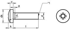 DIN 7985 Z